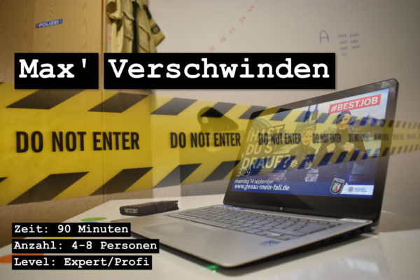 Escape Room Winterberg Gutschein Max