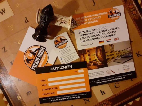 Gutschein Escape Room Winterberg Zurück in die Vergangenheit